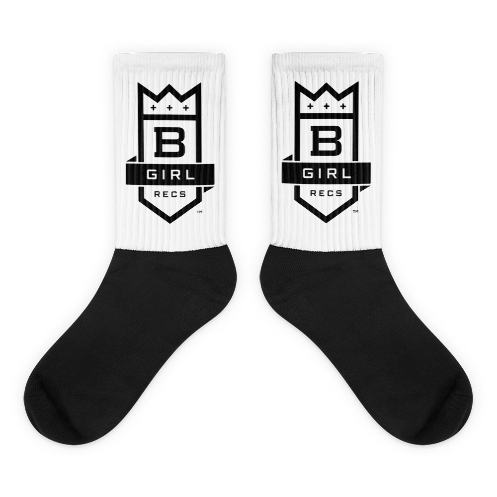 Image of  BGIRL RECORDS LOGO SOCKS