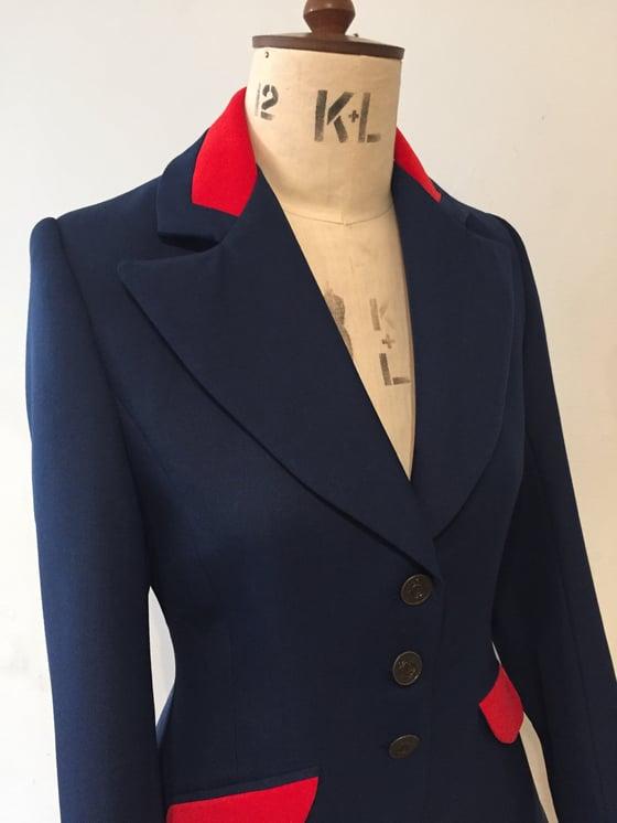 Image of Miss Agnes long line swing jacket