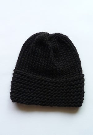 Image of Mono chunky Toque / Peruvian wool (shown in natural)