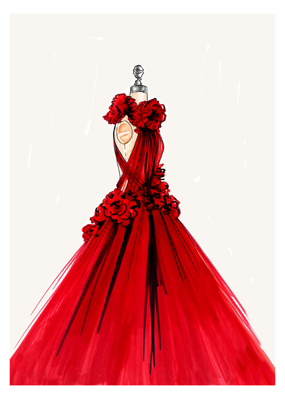 Image of THE MARCHESA DRESS