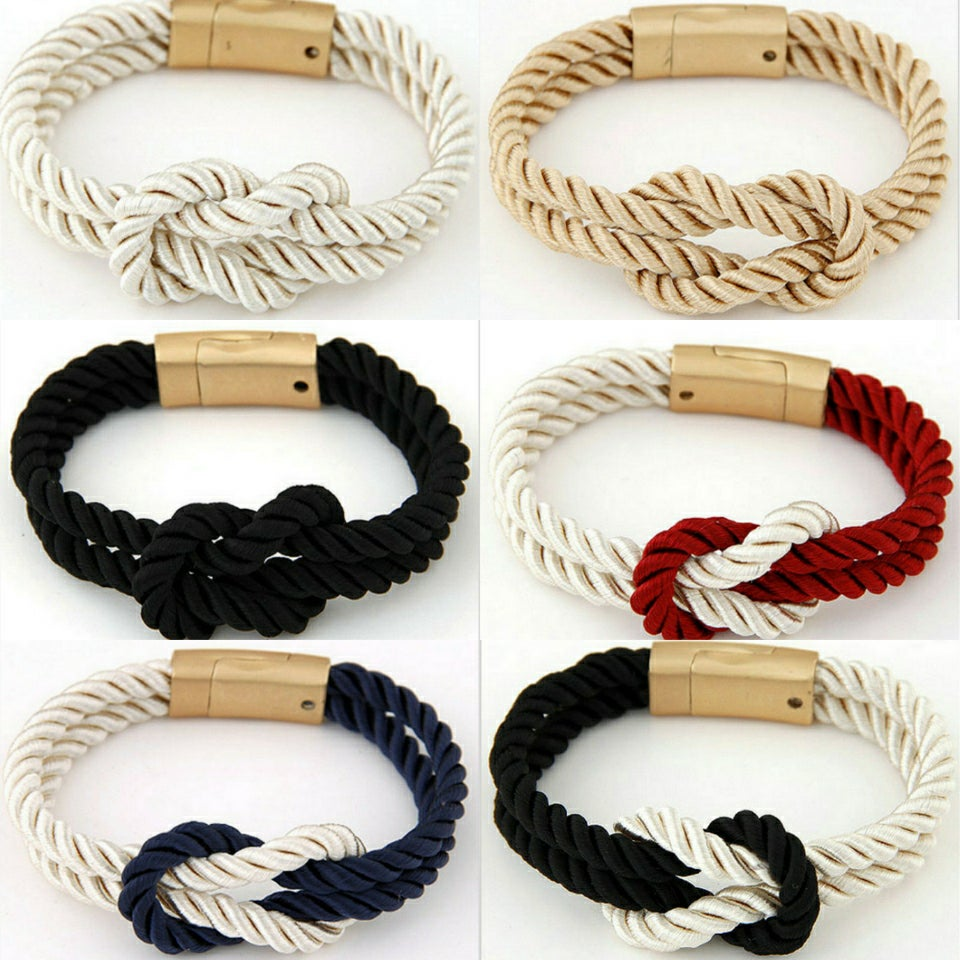 Image of BRAIDED KNOT BRACELET