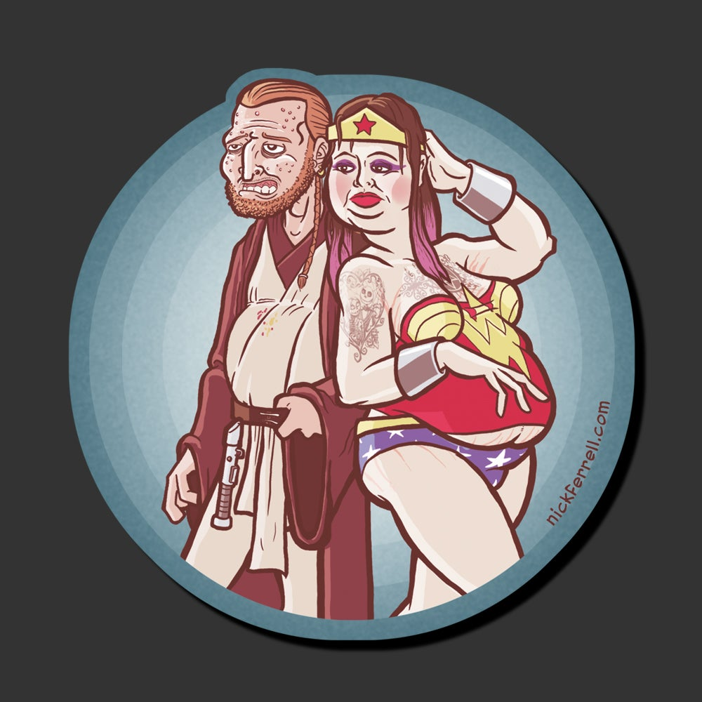 Image of Cosplayers Sticker