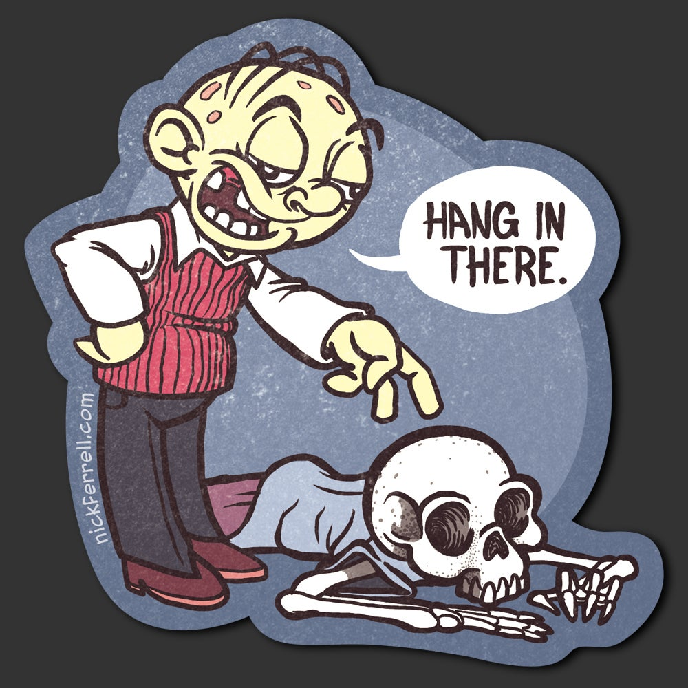 Image of Hang In There Sticker
