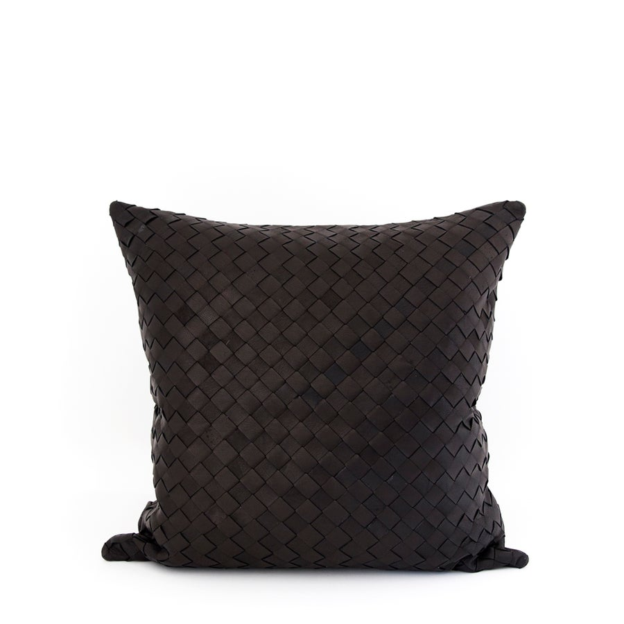 Image of Entwined Love Black Cushion