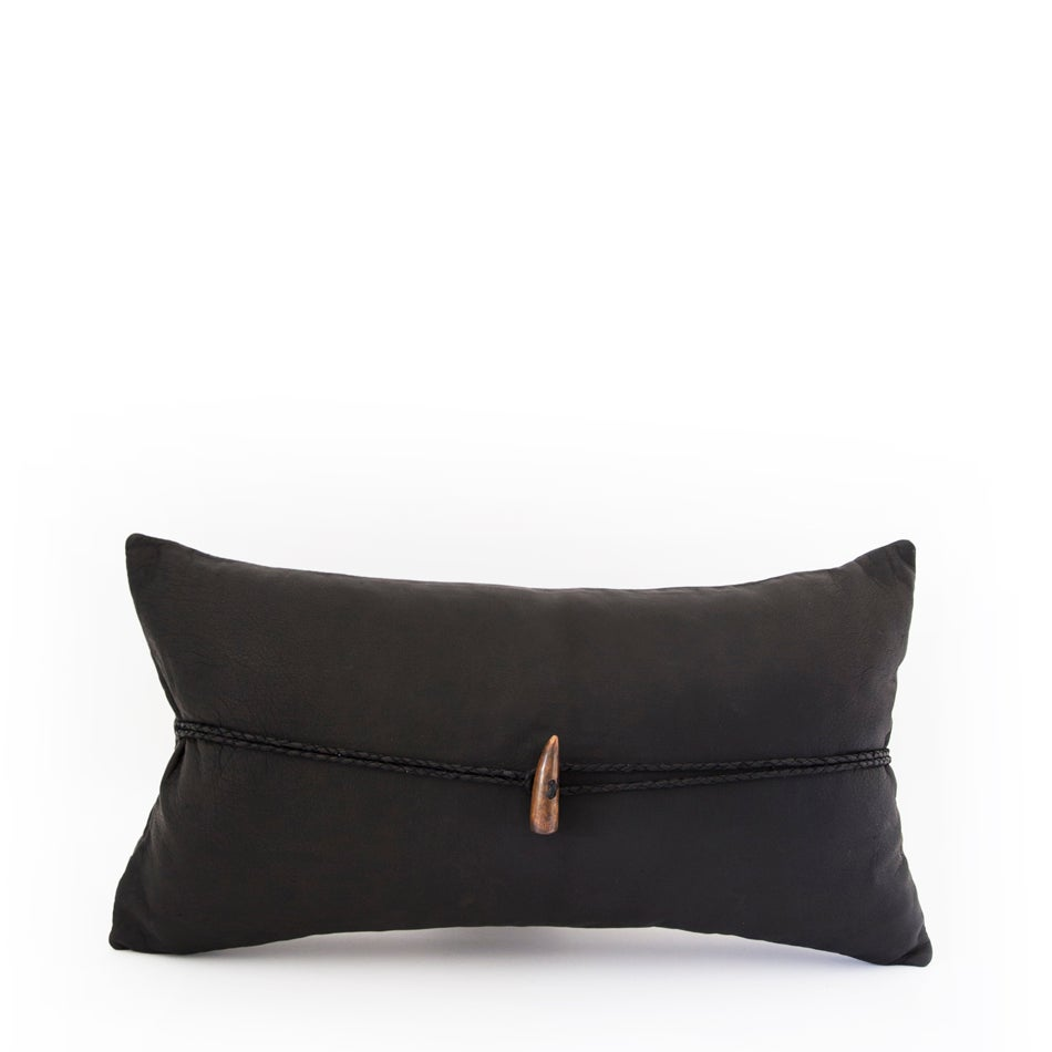 Image of Lone Warrior Black Cushion