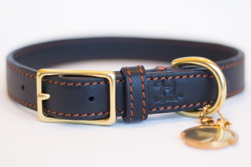 Image of Tuppence Collar - Navy