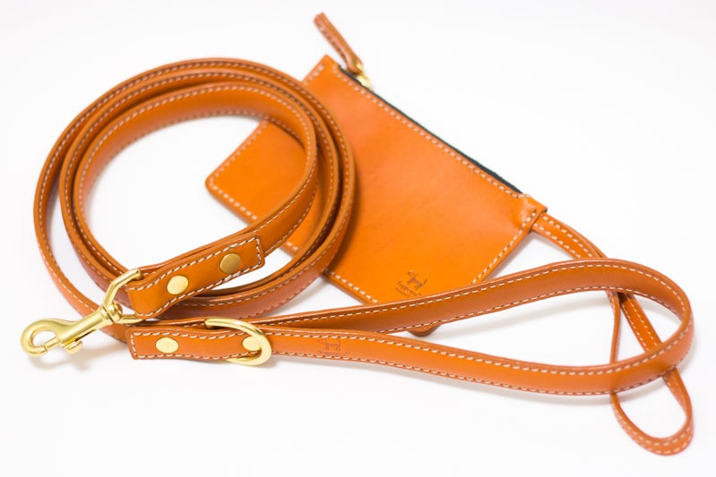 Image of Tuppence Leash - Terracotta