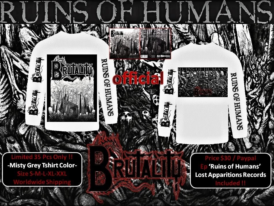 "Image of BRUTALITY  ""Ruins of Humans"" ( USA ) - FREE CD -"