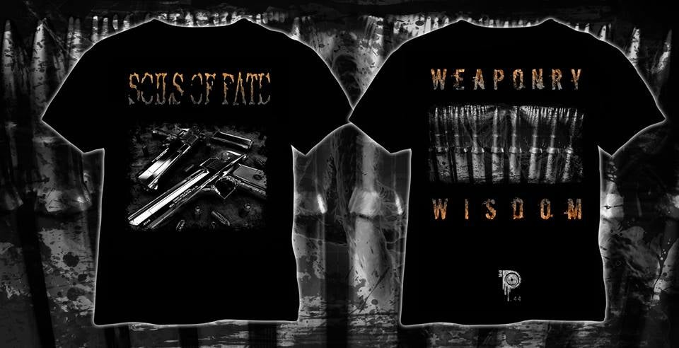 Image of SOILS OF FATE - WEAPONRY WISDOM // T-SHIRT + SWEATSHIRT