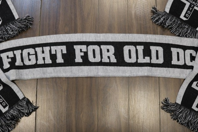 Image of Fight for old DC Scarf