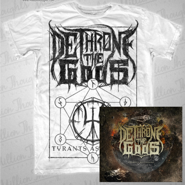 Image of CD-Shirt-Bundle White