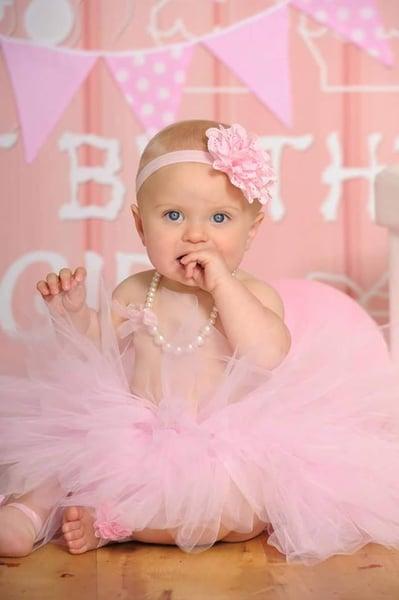 Image of Cotton Candy Pink Tutu Set