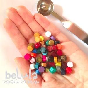 Image of Minilacre de colores: hexágonos 25 unidades
