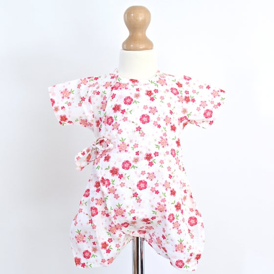 Image of White Blossom Baby Grow