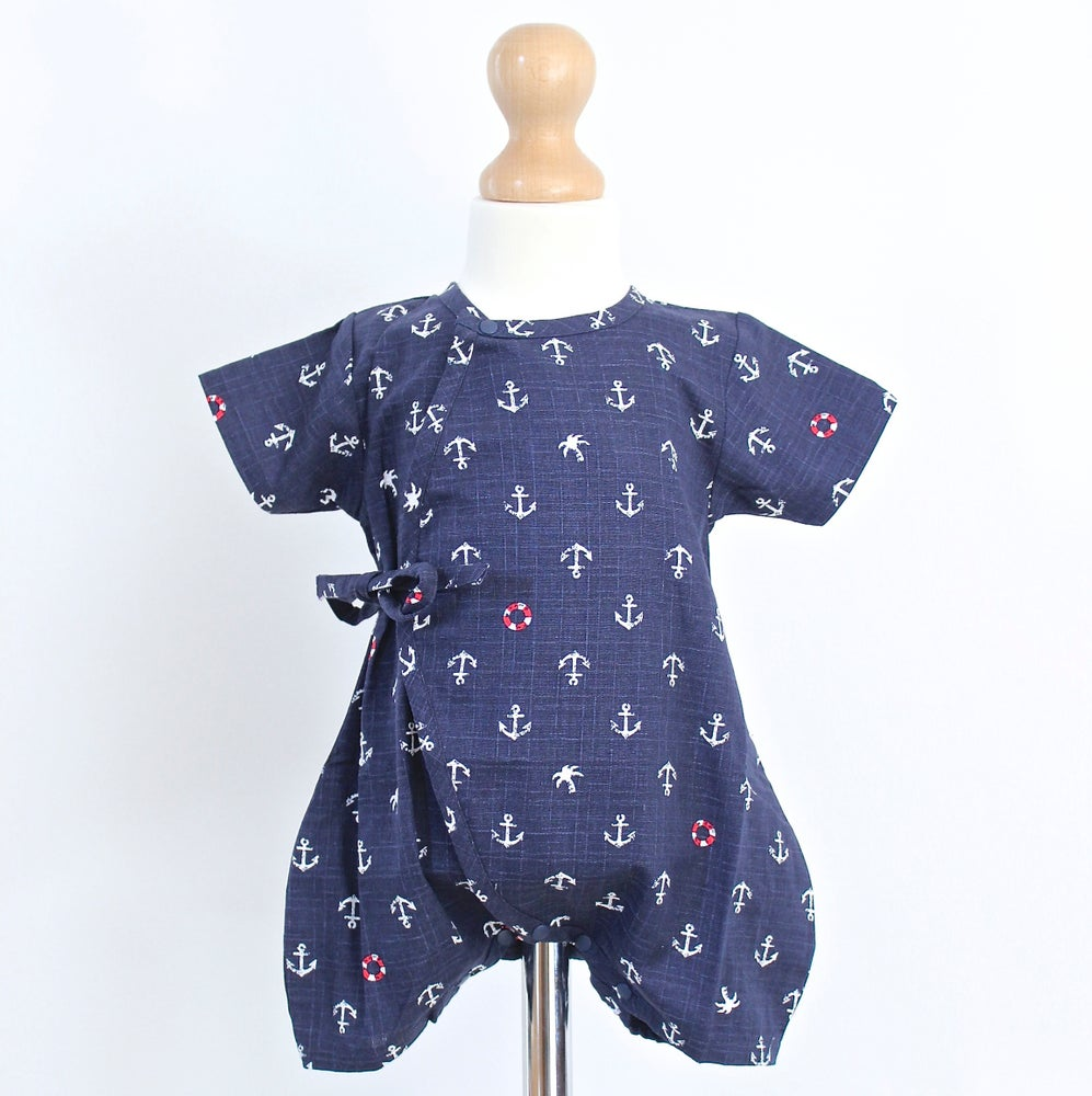 Image of Blue Marine Baby Grow
