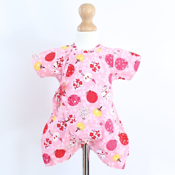 Image of Pink Omatsuri Baby Grow