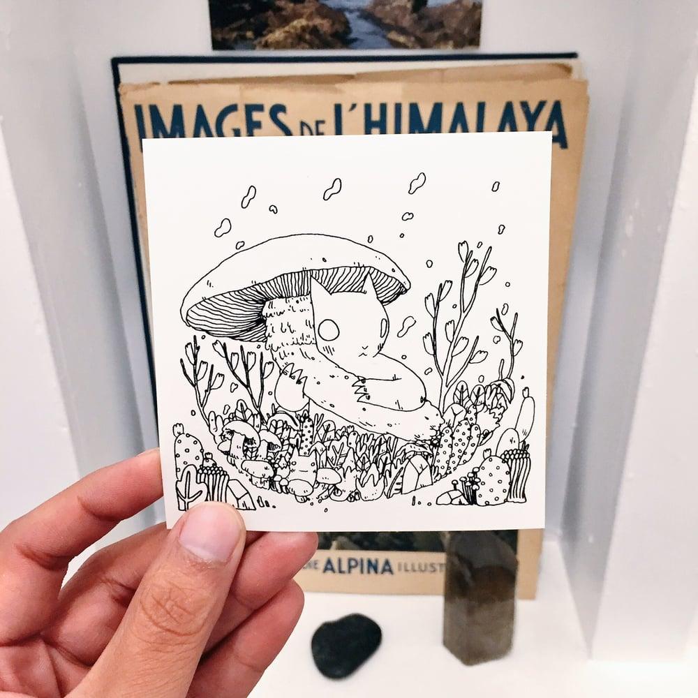 Image of Mushroom Sticker