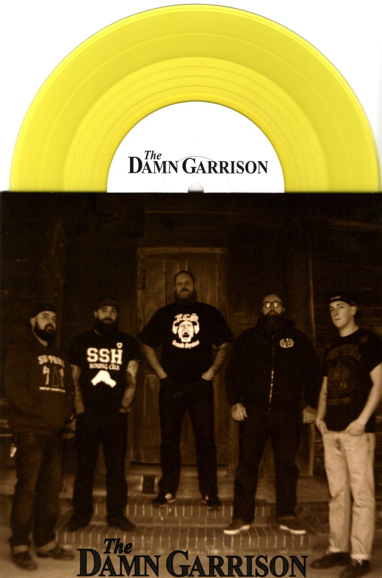 Image of The Damn Garrison - Self-Titled EP (Yellow)