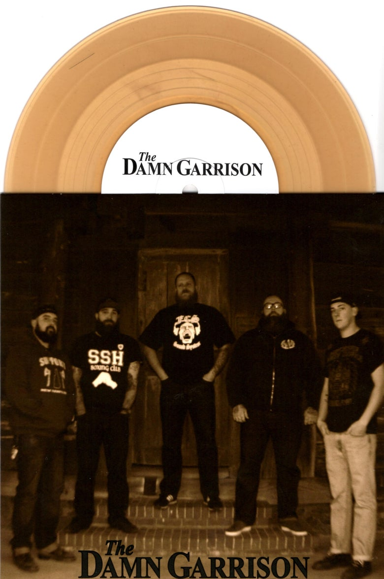 Image of The Damn Garrison - Self-Titled EP (Brown)