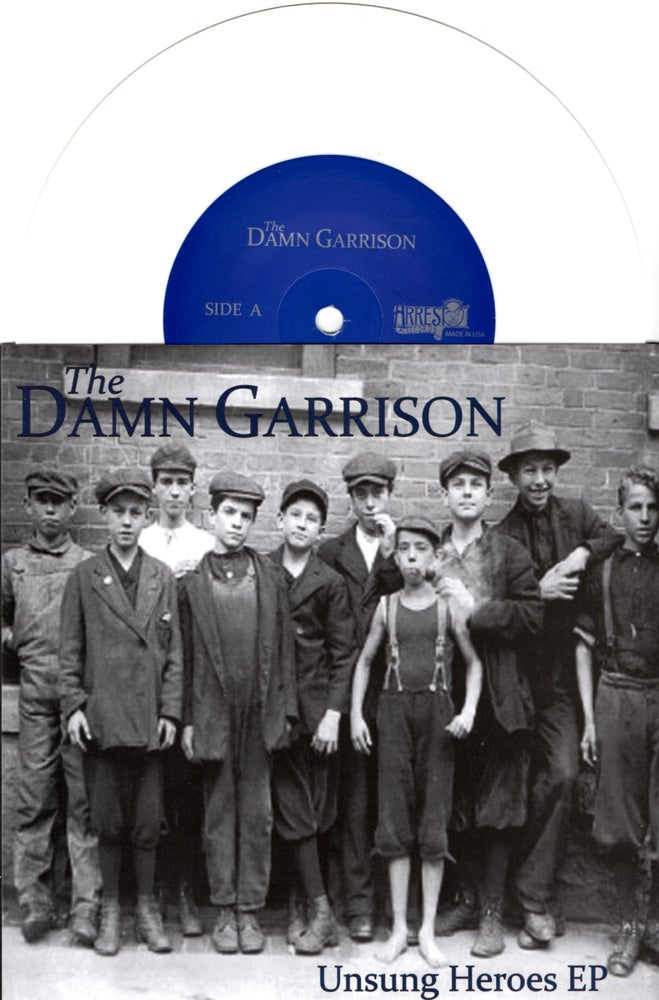 Image of The Damn Garrison - Unsung Heroes EP (White)