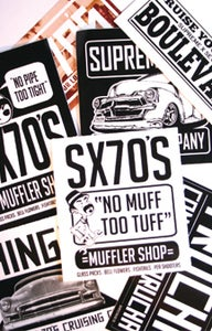 Image of SX70'S CO. - STICKER PACK