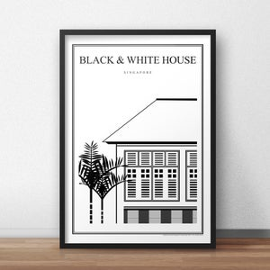Image of Black & White House (Architectural Icon Series)