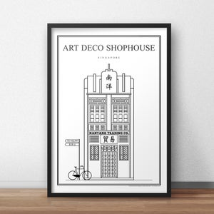 Image of Art Deco Shophouse (Architectural Icon Series)