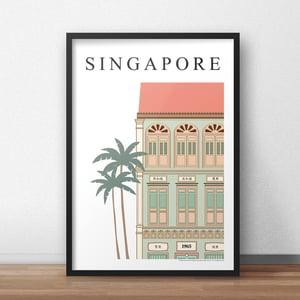 Image of Singapore Shophouse (Fine Art Print) (30cm x40cm)