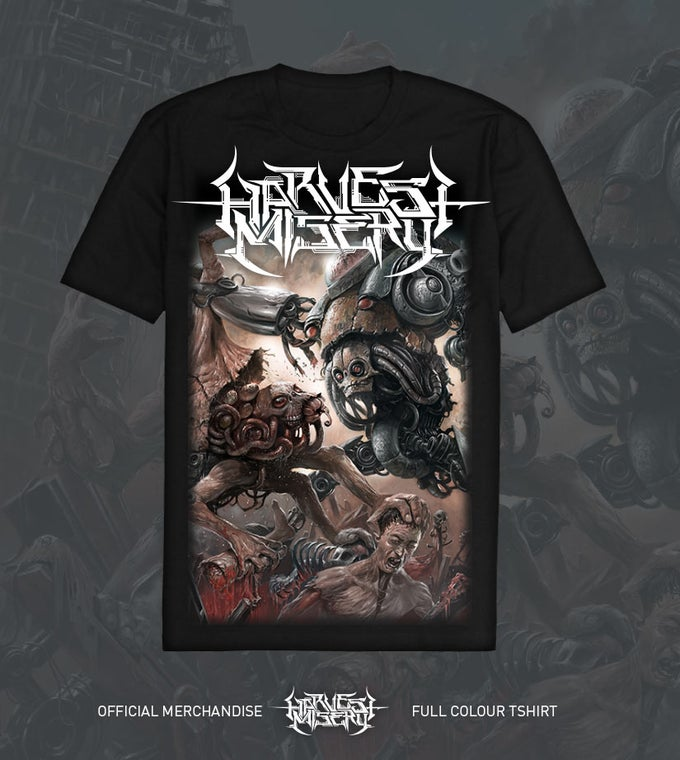 Image of Harvest Misery Album Shirt