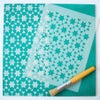 Souk Furniture Stencil for Furniture, Wall and Fabric Projects-Moroccan stencil-DIY