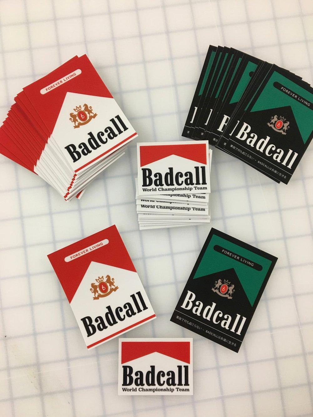 "Image of BADCALL - ""Don't Smoke"" Sticker Pack (2016)"
