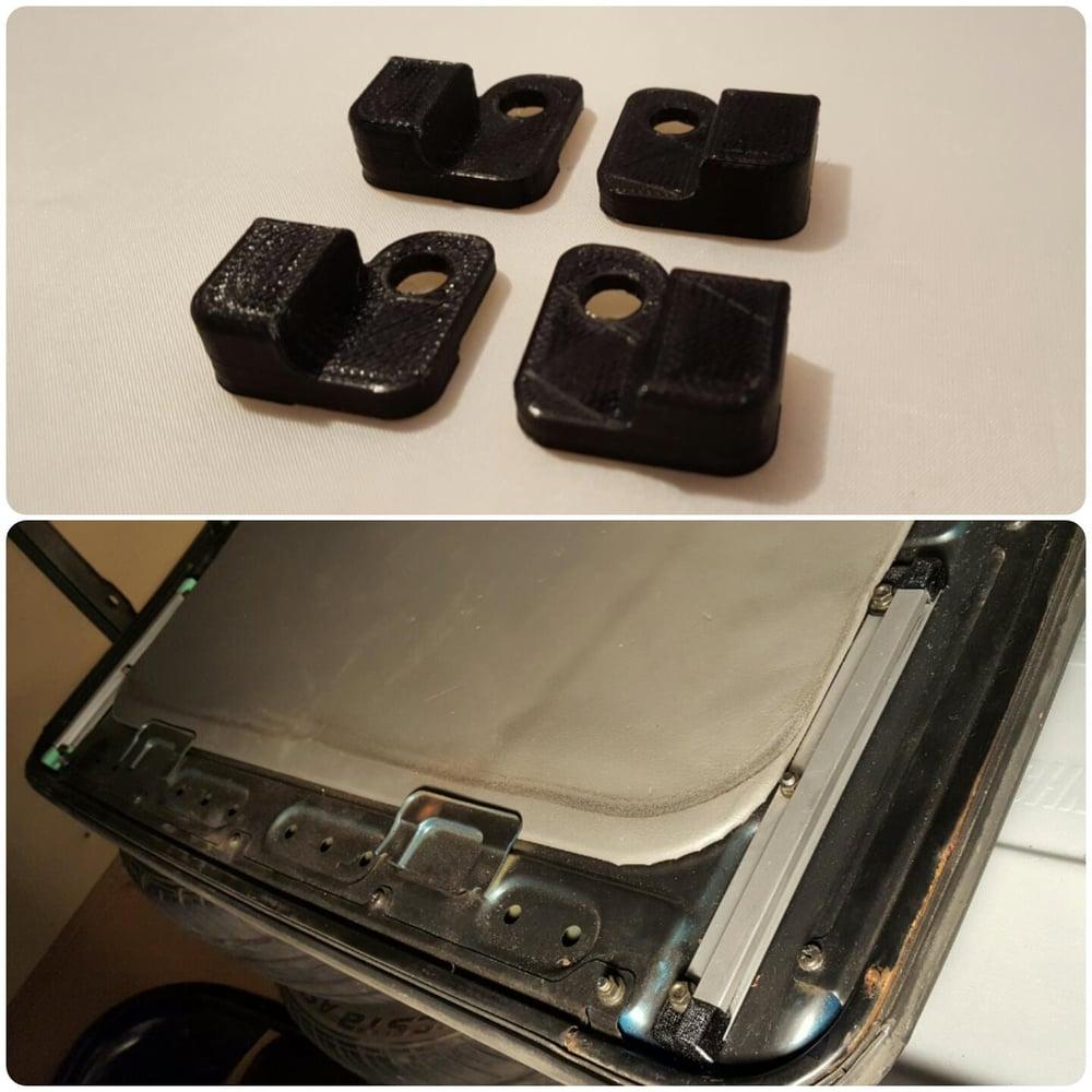 88 91 Honda Crx Civic Si Sunroof Bumper Replacements