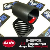 Image of HP3 - AUDI C5 Defroster Vent Gauge Pods (single/dual)