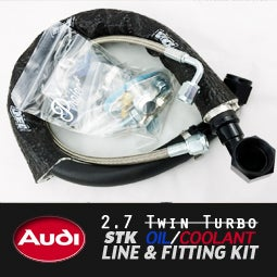Image of PROJECT:B5 - AUDI 2.7TT STK Oil / Coolant Line Kit