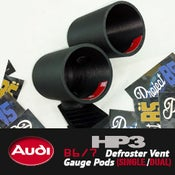 Image of HP3 - AUDI B6/B7 Defroster Vent Gauge Pods (single/dual)
