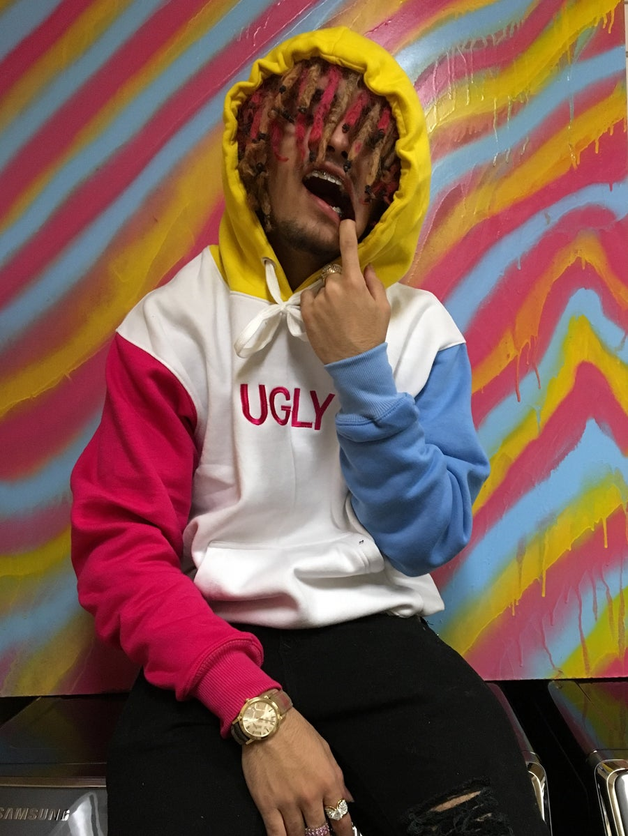 Image of UGLY PINK BLUE AND YELLOW (ft. LIL PUMP)