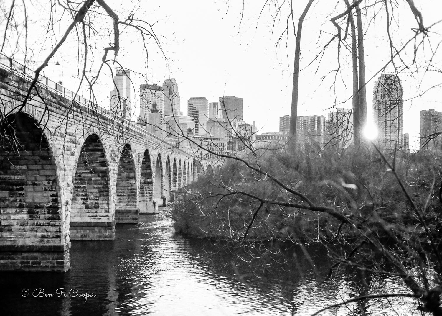 Vintage Stone Arch