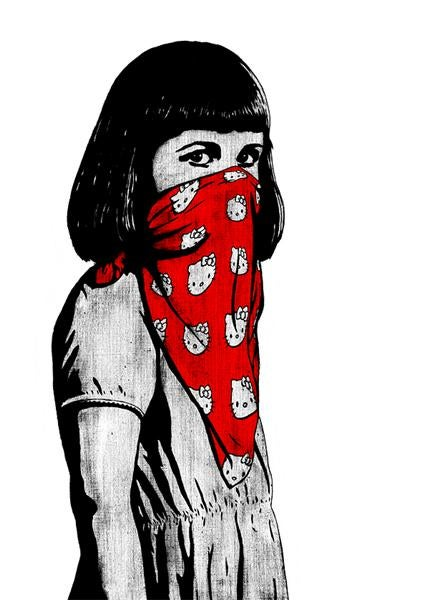 Image of Dolk - Kitty Riot red