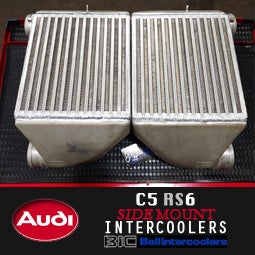 Image of PROJECT:B5 - AUDI RS6 INTERCOOLERS