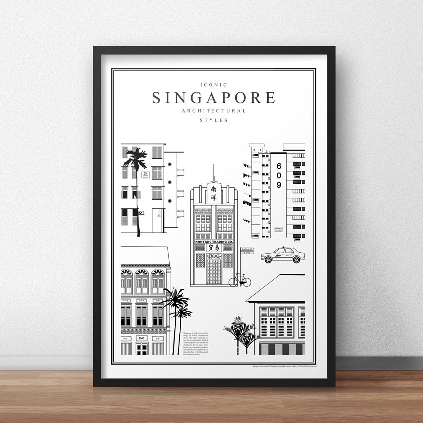 Image of Iconic Singapore Architectural Styles