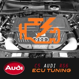 Image of PROJECT:B5 - AUDI C5 RS6 ECU TUNING
