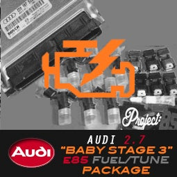 """Image of PROJECTB5 - AUDI 2.7TT """"BABY STAGE 3"""" e85 K03 Tune/Fueling"""