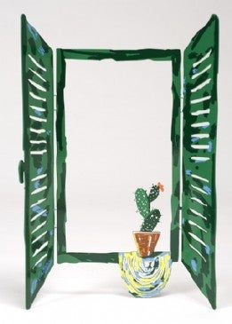 Image of Window Cactus Metal Element