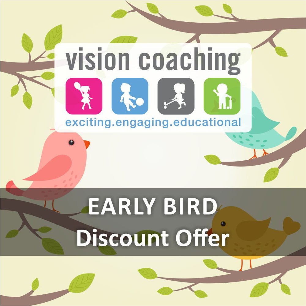 Image of 2019 Vision Coaching Early Bird Offers