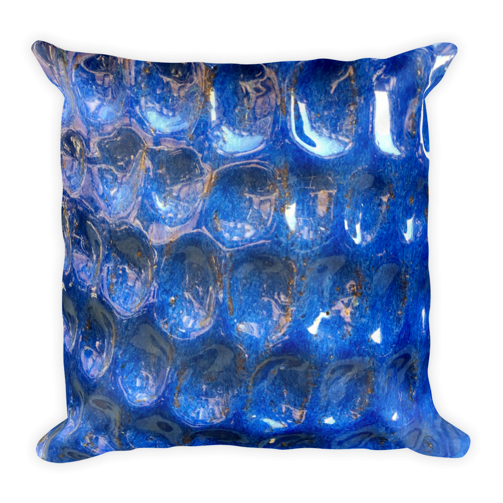 Image of Blue Dapple Pillow