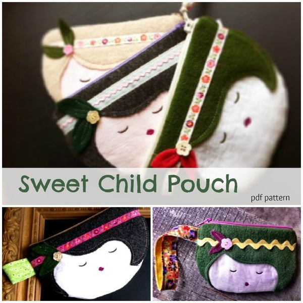 Image of Sweet Child Zipper Purse