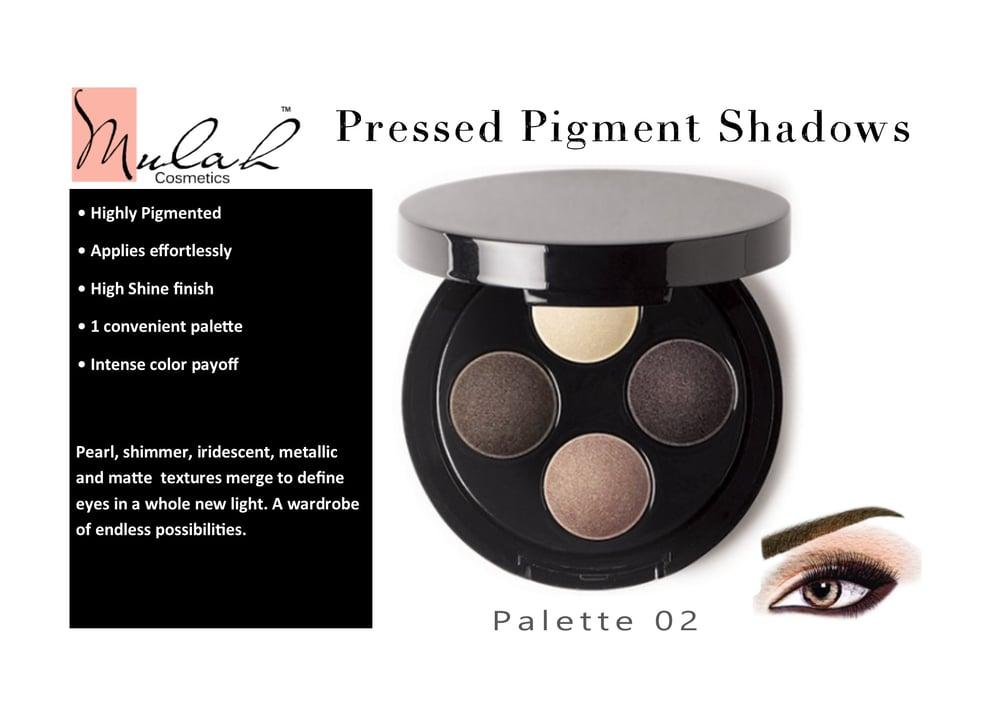 Pressed Pigments Eye Shadow Palette