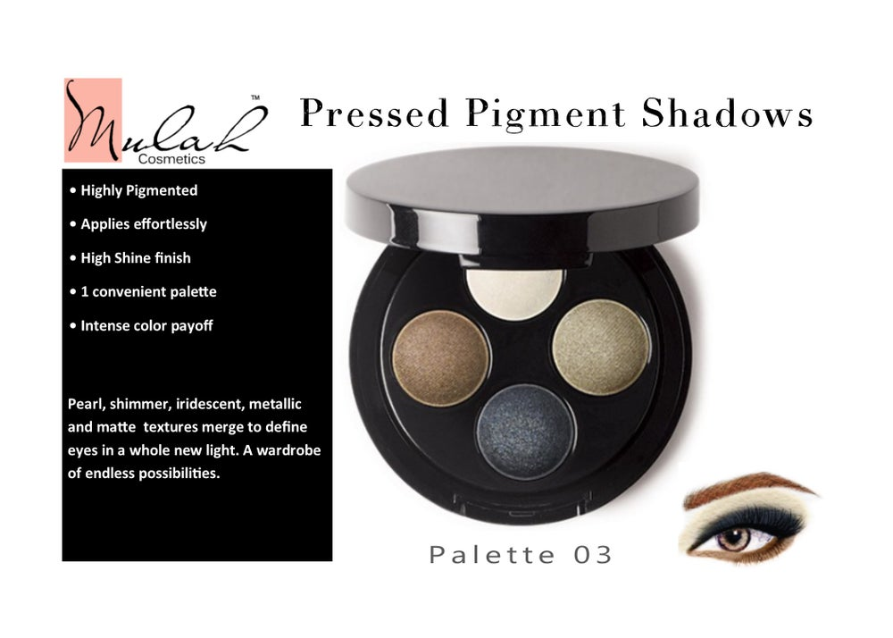 Image of Pressed Pigments Eye Shadow Palette
