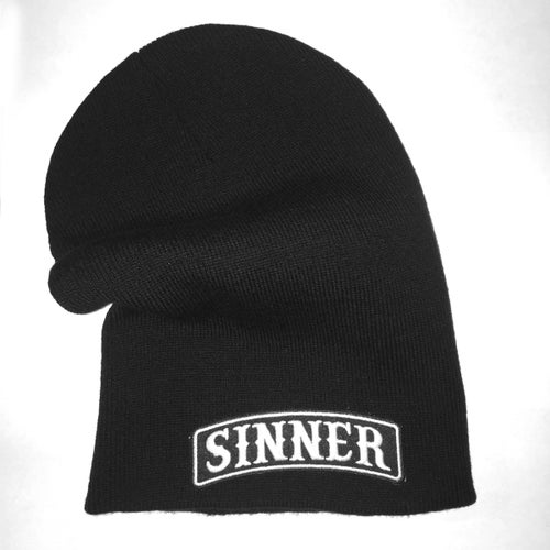 Image of TITLE -  BEANIE BLACK (CUFFED / LOOSE)