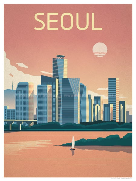 Image of Seoul Poster